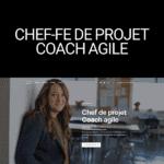 site-vitrine worpress chef projet coach agile