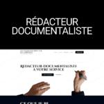site-vitrine worpress rédacteur documentaliste